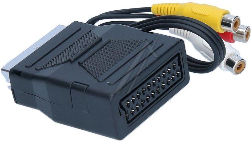 Adapter SCART - CINCH x3 PG3RI0M20,3