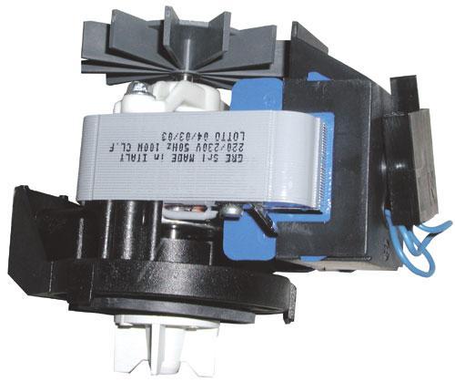 Pompa odpływowa kompletna (silnik + obudowa) do pralki Zanker,0