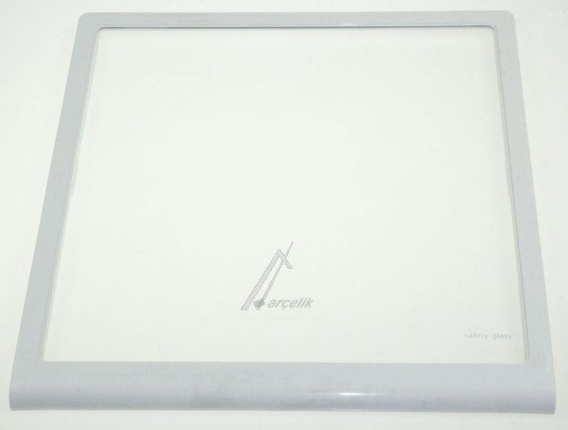 Półka szklana z ramkami do komory chłodziarki do lodówki Beko 4365930100,0
