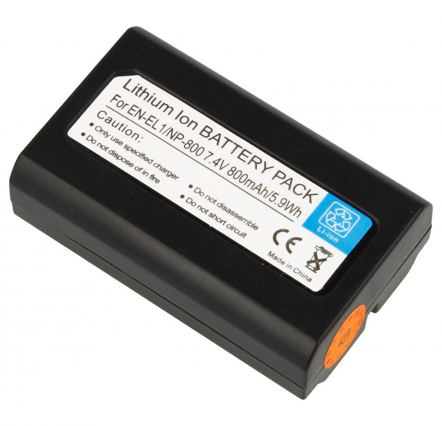 Akumulator 7.4V 750mAh do kamery Nikon DIGCA74005,0