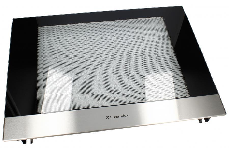Zewnętrzna szyba drzwi z ramą do piekarnika Electrolux 3303344638,0