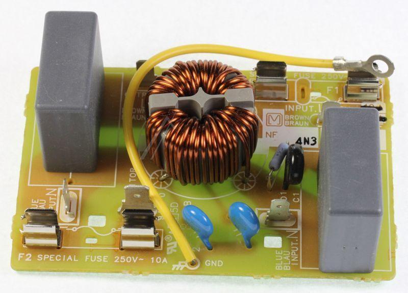 Filtr sieciowy do mikrofalówki Panasonic E607X4N30BP,0