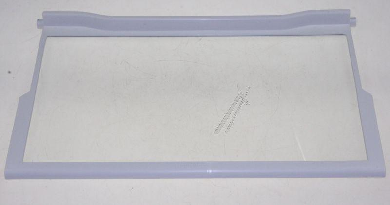 Półka szklana z ramkami do komory chłodziarki do lodówki Bauknecht 481245088134,0
