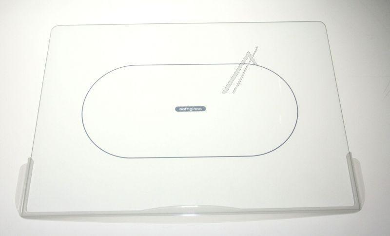 Półka szklana z ramkami do komory chłodziarki do lodówki Whirlpool 481245088222,0