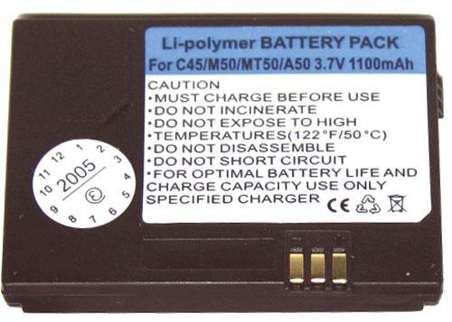 Bateria do smartfona Siemens GSMA37110,0