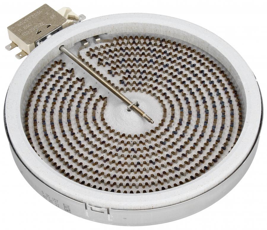 Średnie pole grzejne 1800W 180mm do płyty grzewczej Electrolux 3740636216,0