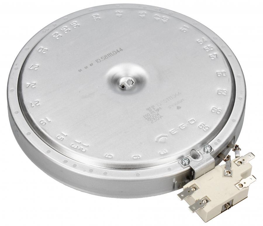 Średnie pole grzejne 1800W 180mm do płyty grzewczej Electrolux 3740636216,1