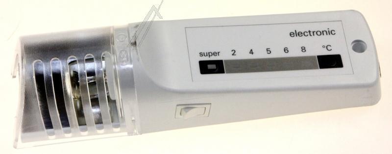 Panel termostatu z oświetleniem do lodówki Bosch 00497478,0