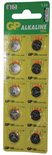 Bateria alkaliczna V10GA GP (10szt.),0
