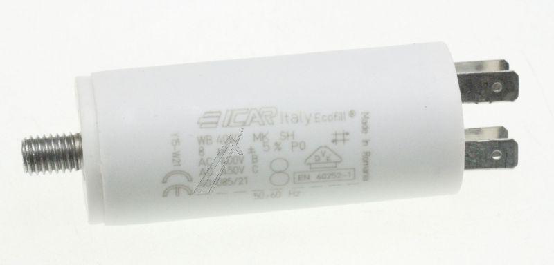 Kondensator rozruchowy do pompy myjącej do zmywarki Smeg 811770036,2