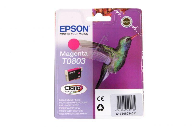 Tusz magenta do drukarki Epson C13T08034011,0