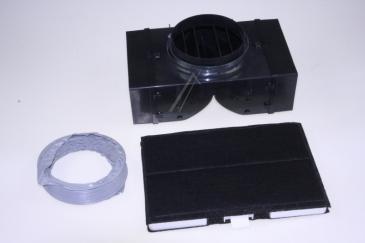 Filtr węglowy aktywny do okapu 00707134