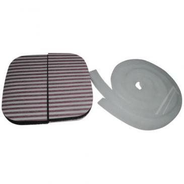 Filtr węglowy aktywny (1szt.) do okapu Siemens 00450808