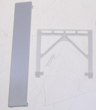Rączka | Uchwyt drzwi do zmywarki Siemens 00165248