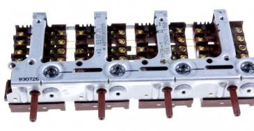 Zespół regulatorów do kuchenki Bosch 00080537
