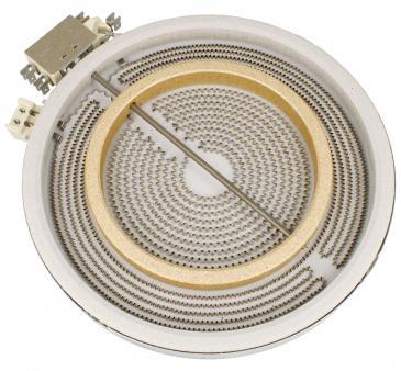 Pole grzejne HiLight podwójne (2200W/1000W) do płyty grzewczej Siemens 00356337