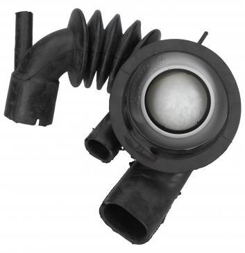 Rura | Wąż połączeniowy bęben - pompa do pralki Siemens 00480818