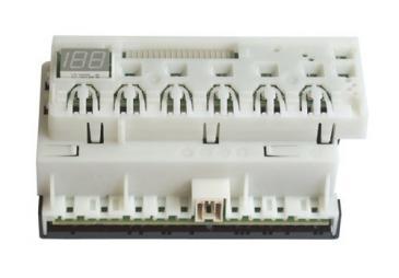 Programator | Moduł sterujący (w obudowie) skonfigurowany do zmywarki Siemens 00489422