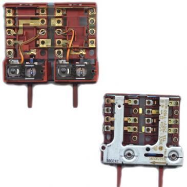 Zespół regulatorów do kuchenki Siemens 00490050