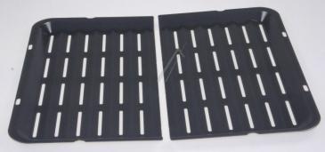 Ruszt | Blacha do grillowania HZ325070 / HEZ325070 (dwuczęściowa) do kuchenki 00437194