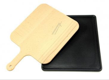Płyta | Kamień do pizzy + łopatka HZ327000 Siemens do kuchenki 00463892