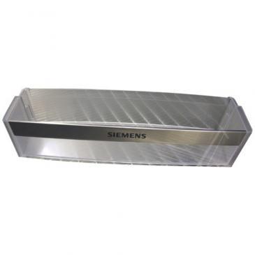 Balkonik | Półka na butelki na drzwi chłodziarki (dolna) do lodówki Siemens 00667995