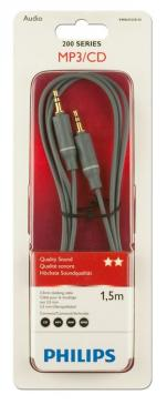 Kabel Jack 3,5mm stereo 1.5m (wtyk/ wtyk) SWA4522S/10