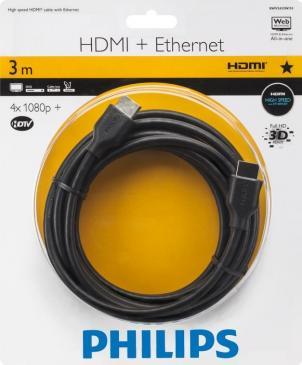 Kabel HDMI 3m Philips SWV2433W10 (wtyk/wtyk)