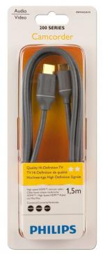 Kabel HDMI - HDMI mini 1.5m Philips SWV4422S10 (wtyk/ mini wtyk) HQ