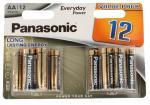 Bateria AA Everyday Power 1.5V do pilotów, zabawek 12szt