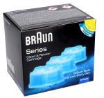 Wkład czyszczący CCR3 do golarki Braun 65331708 3szt.
