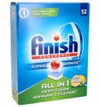Tabletki Finish All in 1 Powerball (cytrynowy) 52szt. do zmywarki