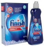 Zestaw: Preparat nabłyszczający + sól regeneracyjna Finish