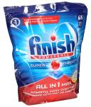 Tabletki Finish All in 1 Max Powerball (cytrynowy) 65szt. do zmywarki