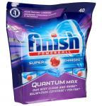 Tabletki Finish Quantum Max Powerball 40szt. do zmywarki