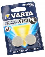 CR2430   DL2430   Bateria 3V Varta (2szt.)
