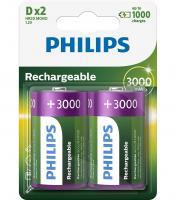R20 Akumulator 1.2V 3000mAh Philips (2szt.)