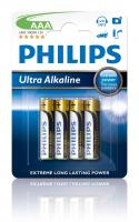 R3   LR3   MN2400 Bateria AAA alkaliczna (Ultra Alkaline) 1.5V Philips (4szt.)