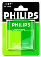 3R12   3LR12   Bateria cynkowo-węglowa 4.5V Philips (1szt.)