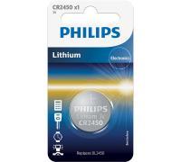 CR2450 | DL2450 | Bateria 3V 600mAh Philips (1szt.)