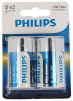 R20 | LR20 | MN1300 Bateria D alkaliczne 1.5V Philips (2szt.)