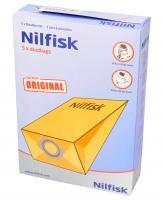 Worek do odkurzacza gm80 Nilfisk 5szt. 82095000