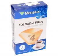Filtr papierowy CFP4 1x4 do ekspresu do kawy Menalux 9002563147