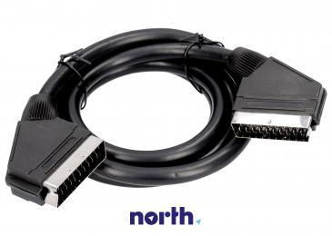 Kabel SCART 1.5m (wtyk/wtyk)