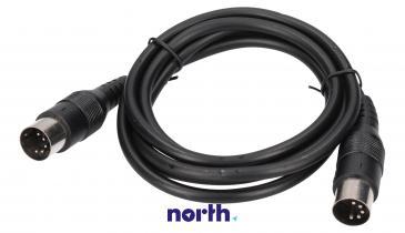 Kabel DIN 5 pin 1.5m (wtyk/wtyk)