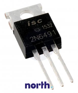 2N6491 Tranzystor TO-220AB (pnp) 80V 15A 5MHz