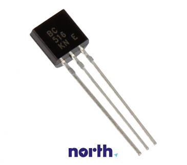 BC516 Tranzystor TO-92 (pnp) 40V 0.5A 220MHz