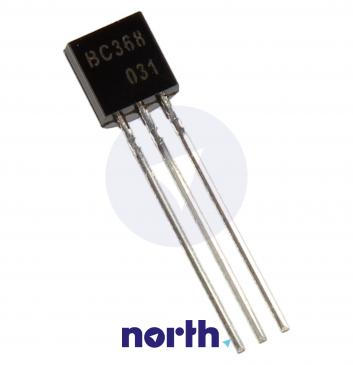 BC368 Tranzystor TO-92 (npn) 20V 1A 40MHz