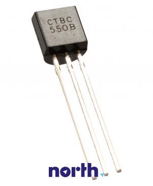 BC550B Tranzystor TO-92 (npn) 45V 0.1A 100MHz