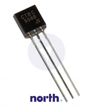 BC556B Tranzystor TO-92 (pnp) 65V 0.2A 150MHz